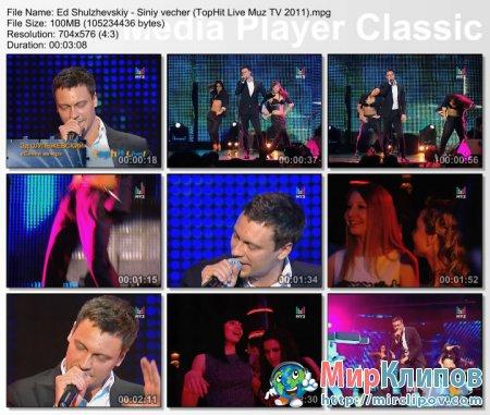 Эдуард Шульжевский - Синий Вечер (Live, TopHit Live, 2011)