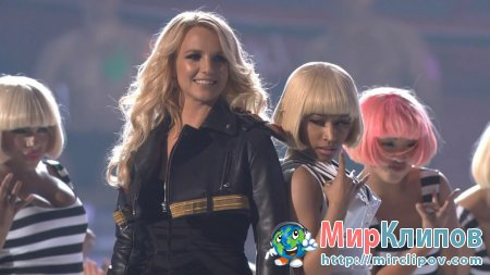 Nicki Minaj Feat. Britney Spears - Super Bass & Till The World Ends (Live, Billboard Music Awards, 2011)