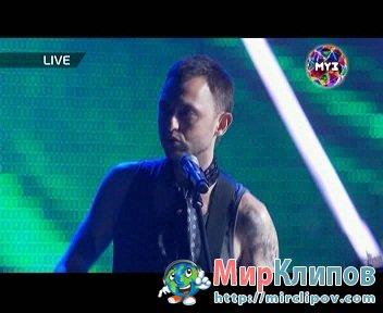 Звери - RnR (Live, Премия Муз-Тв, 03.06.2011)