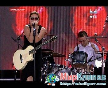 Диана Арбенина - Ты дарила мне розы (Live, Россия Молодая)