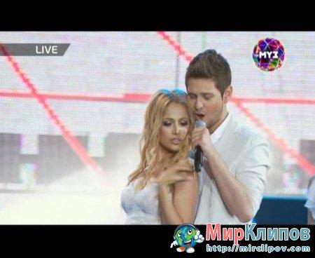 Ell & Nikki - Running Scared (Live, Премия Муз-Тв, 03.06.2011)