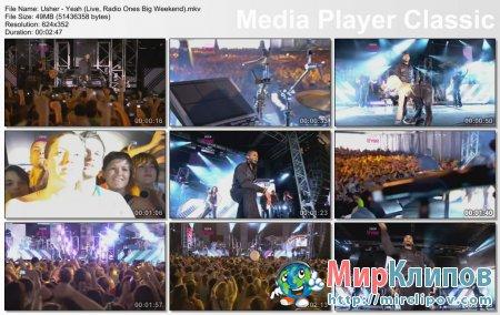Usher - Yeah (Live, Radio 1S Big Weekend)