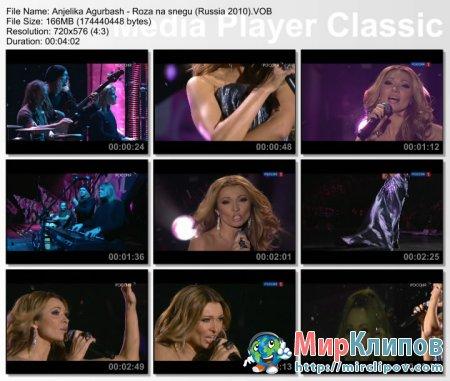 Анжелика Агурбаш - Роза На Снегу (Live, Песня Года, 2009)