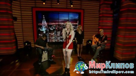 Natasha Bedingfield - Weightless (Live, Regis & Kelly, 09.06.2011)