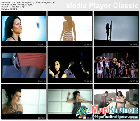Inna - The Hot Megamix (Official UK Megamix)