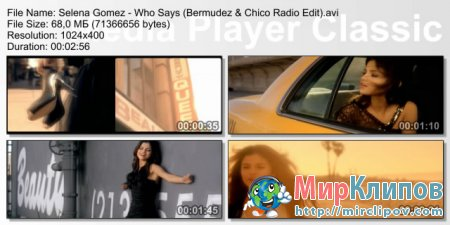 Selena Gomez - Who Says (Bermudez & Chico Radio Edit)