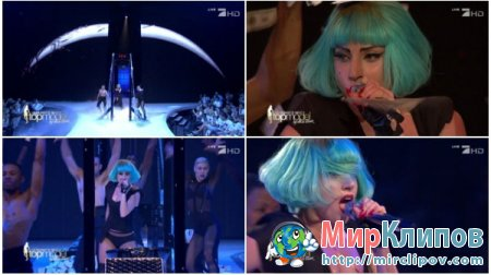 Lady Gaga - Medley (Live, Germany's Next Top Model)