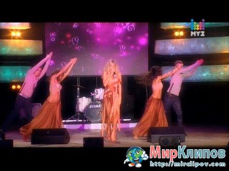 Вера Брежнева - Любовь Спасет Мир (Live, Горячая 10-ка Муз-ТВ, 2010)