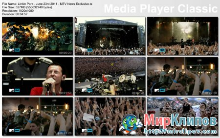 Linkin Park - Iridescent (Live, Moscow, 23.06.2011)