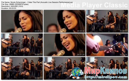 Nicole Scherzinger - I Hate This Part (Live, Acoustic Session Performance)