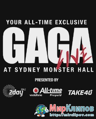Lady Gaga - The Edge Of Glory (Live, Sydney Monster Hall)