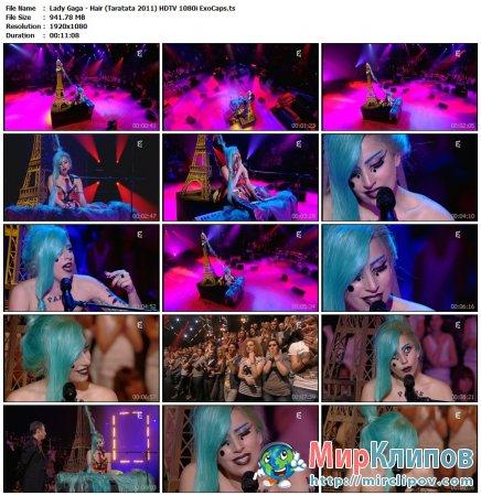 Lady Gaga - Hair (Live, Taratata 2011)