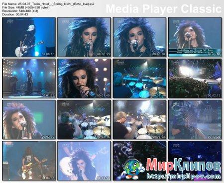 Tokio Hotel - Spring Nicht (Live, Echo, 25.03.2007)
