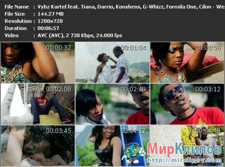 Vybz Kartel Feat. Tiana, Darrio, Konshens, G-Whizz, Formila One & Cilon - West Pines Riddim
