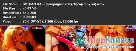 DVJ Bazuka - Champagne Girlz (Uncensored)