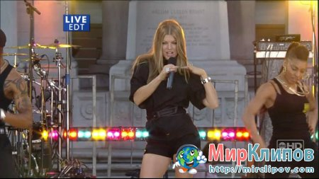 Fergie - Glamorous (Live, Good Morning America)