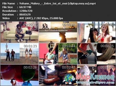 Yohann Malory - Entre Toi Et Moi