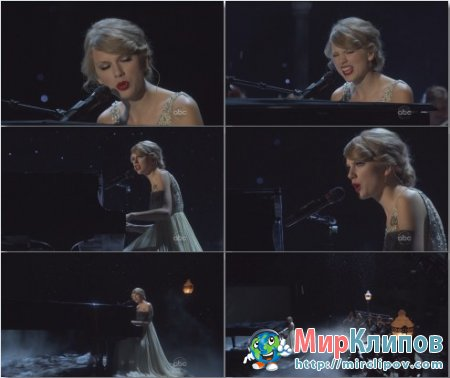 Taylor Swift - Back To December (Live, CMA)
