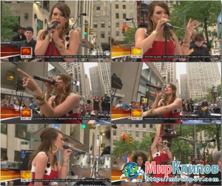 Hilary Duff - Come Clean (Live,Today Show)