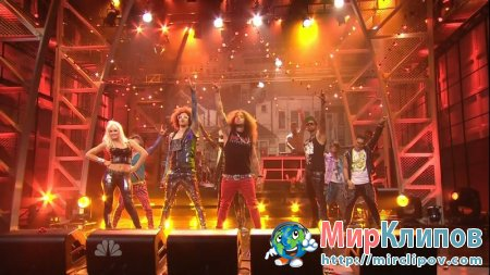 LMFAO Feat. Lauren Bennett & GoonRock - Party Rock Anthem (Live, Tonight Show With Jay Leno, 20.06.2011)
