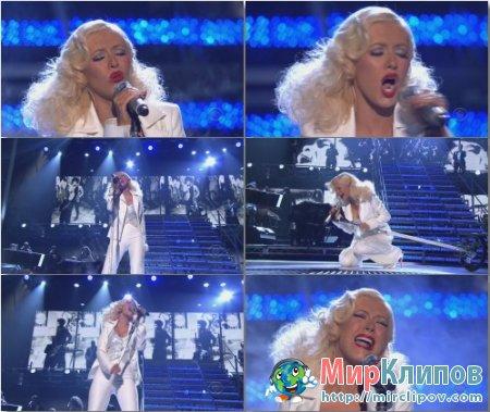 Christina Aguilera - It's A Mans Mans Mans (Live)