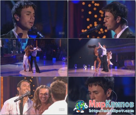Enrique Iglesias - Hero Dancing (Live, Dancing With The Stars, 15.05.2007)