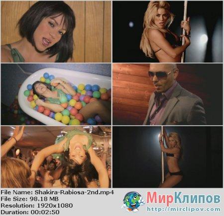 Shakira Feat. Pitbull - Rabiosa (2nd Version)