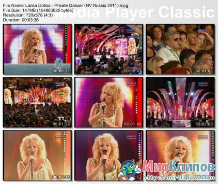 Лариса Долина - Private Dancer (Live, Новая Волна, 2011)