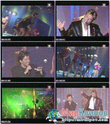 Modern Talking - You're My Heart, You're My Soul & Brother Louie (Live, M6 Graine Star, 1998)