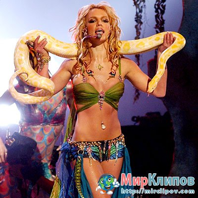Britney Spears - I'm A Slave 4 U (MTV, VMA, 2001)