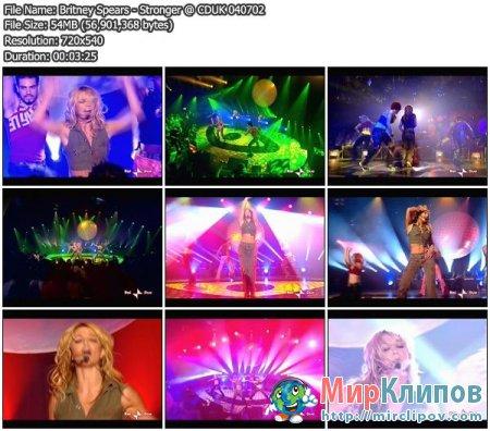 Britney Spears - Stronger - (Live, CDUK)