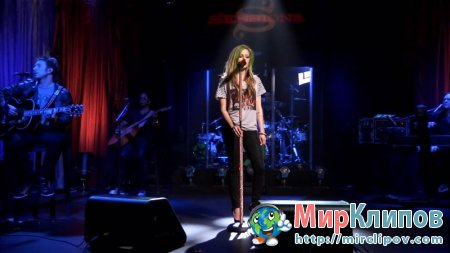 Avril Lavigne - I'm With You (Live, AOL Sessions, 2011)
