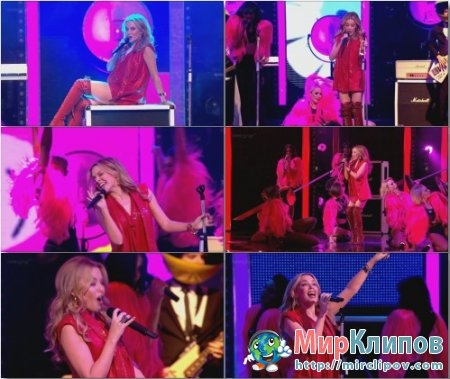 Kylie Minogue - Better Than Today (Live, Royal Variety, 2010)