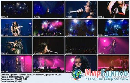 Christina Aguilera - Get Mine, Get Yours (Live)