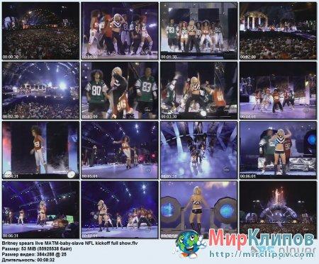 Britney Spears - Baby & Slave (Live, MATM)