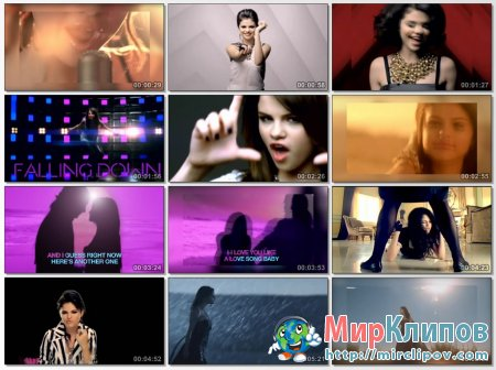 Selena Gomez Feat. The Scene - Megamix 2011