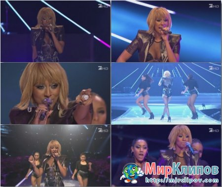 Keri Hilson - Pretty Girl Rock (Live, Next Topmodel, 2011)
