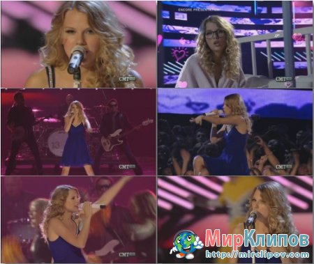 Taylor Swift - You Belong With Me (Live, CMT Music Awards, 2009)