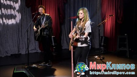 Avril Lavigne - My Happy Ending (Live, AOL Sessions, 2011)