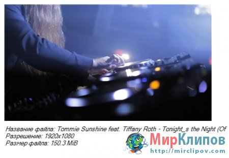 Tommie Sunshine Feat. Tiffany Roth - Tonight's The Night