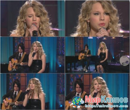 Taylor Swift - White Horse (Live, Tonight Show, 2008)