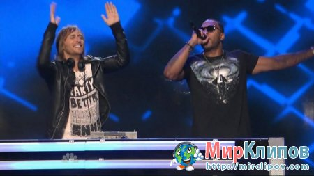David Guetta Feat. Flo Rida & Nicki Minaj -Where Them Girls At (Live, America's Got Talent)