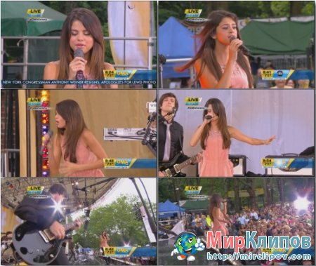 Selena Gomez - Good Morning America (Live, 2011)