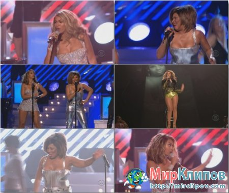 Beyonce Feat. Tina Turner - Medley (Live, Grammy Awards, 2008)