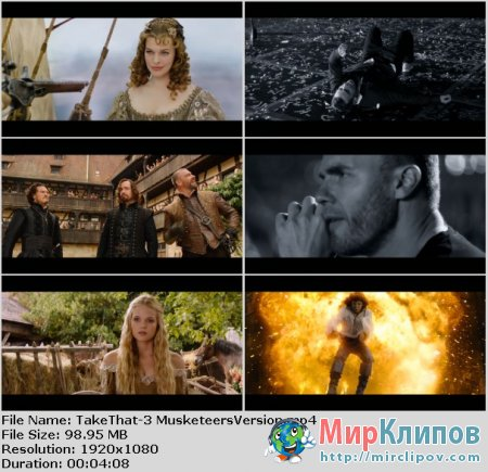 Take That - When We Were Youn (OST The Three Musketeers)