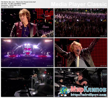 Bon Jovi - This Is Our House (Live)