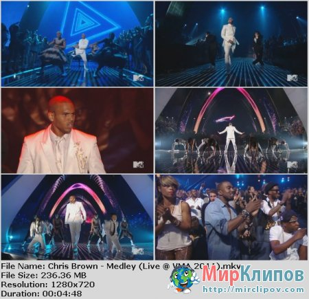 Chris Brown - Medley (Live, VMA, 2011)