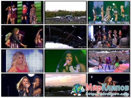 The Saturdays - All Fired Up Live (Sainsburys Super Saturday)