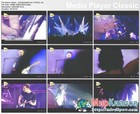 Muse - Unintended (Live, Paris)