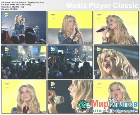 Jessica Simpson - Angels (Live)